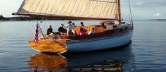 Not much Wind, but still a ton of fun aboard Sail Selina II, St Michaels MD