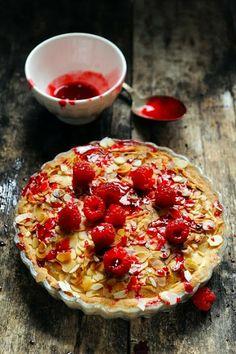 Rock'n'roll bakewell tart' !  Recipe in english...