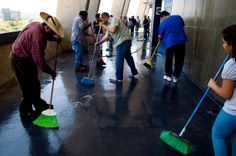 Cleaning the Football Stadium for God | Voice of San Diego