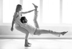Couple's yoga