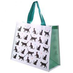 """Pevní nákupní taška s motivem #kočky """"I Love My Cat"""" #shoppingbag #cat"""