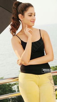 Tamanna milky hottie very hot in a sleeveless black tops n tight pant - Page 3 South Indian Actress Hot, Indian Actress Photos, Indian Bollywood Actress, South Actress, Tamil Actress, Hot Actresses, Beautiful Actresses, Indian Actresses, Meena Hot Photos