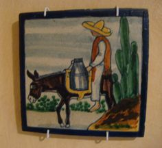 Vintage Mexican tile by Uriarte.  www.mexicana-nirvana.com