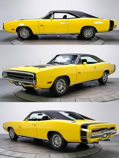 The Legendary Best Muscle Car - DODGE CHARGER