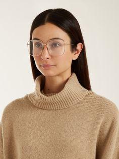 Stellaire01 square-frame glasses | Dior | MATCHESFASHION.COM UK