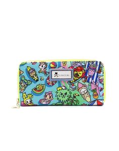 Tokidoki California Dreamin/' Zip Pouch A4