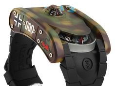 Azimuth SP-1 Landship Battle Tank Collection Watch review - Tank 000.