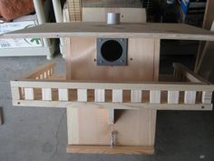 "Squirrel ""nest box"" design"