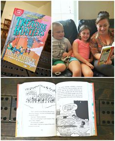 #TreasureHunters by James Patterson is a great new adventure book for kids! #ad