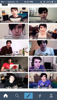 I love Dan's 2nd to last quote.... these 2 people make my life soo much better