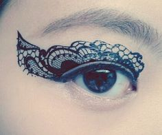 Get the face tattoo you've always wanted without fear of being fired from your job with these temporary eye tattoos. Ideal for masquerade parties or adding some extra flair to your night time look, each tattoo features an intricate and equally beautiful design.