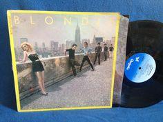 Vintage Blondie  Autoamerican Vinyl LP Record by sweetleafvinyl