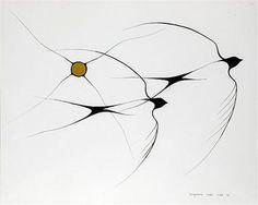 Benjamin Chee Chee's birds
