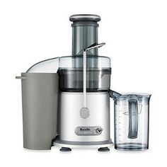 This 850-watt professional juice extractor with a powerful 13,000 RPM motor juices both whole fruits and vegetables without the need for pre-chopping or pre-cutting. 2 speed electronic control juices soft and hard fruits in just five seconds.
