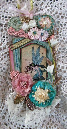Graphic45 Fairies Tag - Scrapbook.com