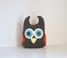 Hootie the Owl Plushie  Nursery Decor Made to Match Owl Blankets on Etsy, $35.00