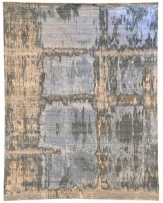 Rimini #1 Rug by Luke Irwin. 100% wool. This rug has such a peaceful look to it.