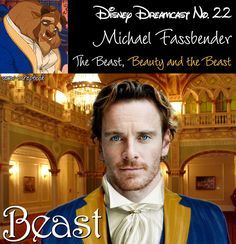 Michael Fassbender as The Beast (Beauty & the Beast)