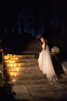 25 inspirações de decoração com velas para casamento - eNoivado