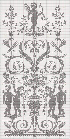 Cross Stitch Angels, Counted Cross Stitch Patterns, Cross Stitch Charts, Cross Stitch Embroidery, Crochet Skull Patterns, Christmas Crochet Patterns, Embroidery Patterns, Minecraft Pattern, Cross Stitch Silhouette