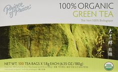 Prince of Peace Organic Green Tea 100 Tea Bags - 2 pack *** Click on the image for additional details. (This is an affiliate link and I receive a commission for the sales) #GreenTea