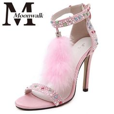 I found some amazing stuff, open it to learn more! Don't wait:https://m.dhgate.com/product/hairy-rhinestone-high-heels-sandals-woman/382137337.html