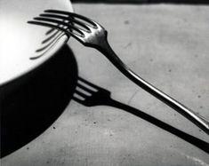André Kertész :: La fourchette, Paris 1928