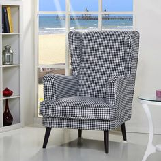 Three Posts Ramapo Wingback Chair