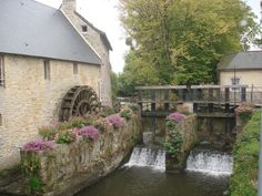 One of the old mills in Bayeux within walking distance from our tour base