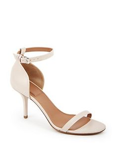 Givenchy - Leather Sandals Nude Sandals 2b52faa1b2d