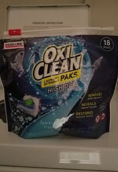 Ad I Received A Freesample Of Oxiclean Laundry Paks I Love How