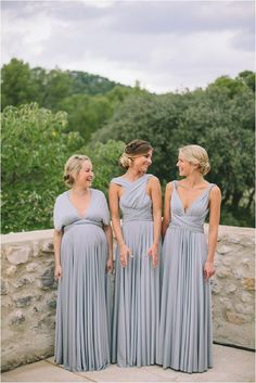 Platinum twobirds Bridesmaid dresses | A real wedding featuring our multiway, convertible wrap dresses | Image by M&J Photography