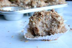 Muffins Especiados de Pera con Streusel.