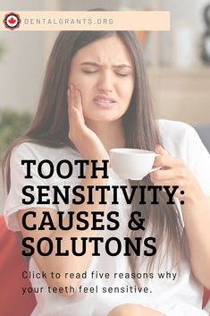 What makes teeth sensitive? Read about the five most common reason why your teeth might be sensitive. What makes teeth sensitive? Read about the five most common reason why your teeth might be sensitive. Tooth Sensitivity, Outdoor Candles, Dental Facts, Shocking Facts, Lipstick Brands, Dose Of Colors, Do What Is Right, Makeup For Brown Eyes, Teeth