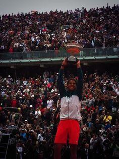 Rafael Nadal, winner Roland Garros 2013!