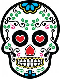 Sticker Calavera - Tete De Mort Mexicaine 20 - ref.d7458 | MPA Déco
