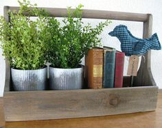 Rustic Tool Caddy//Farmhouse Caddy//Tool by TimberlakeHomeDesign