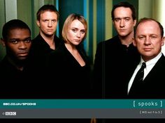 Spooks in the BBC. The Brits do TV better.