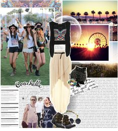 """C o a c h e l l a - 2 0 1 3"" by rafaelatomars ❤ liked on Polyvore"