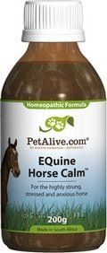 Equine Horse Calm (PetAlive) . $48.88... For trailer trips. Make sure it's not something that might be a problem at horse shows.