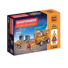 Magformers 37-pc. XL Cruisers Construction Set, Multicolor