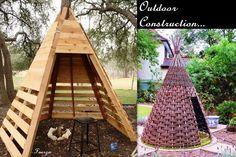 DIY Inspire 'Teepee Mother Nature' #Teepee #DIY #Fuerza