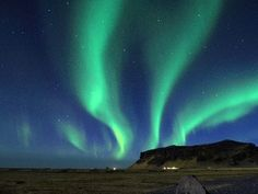 The Northern lights! Iceland anyone?
