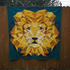 GASP! SWOON! Zohreh Daly took our Jungle Abstractions quilt pattern from Violet Craft to a whole other level. So beautiful!
