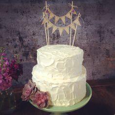 My perfect simple succulent wedding cake