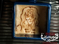 Latte Art - Clockwork Droid