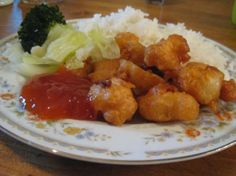 Kittencal's Chinese Chicken Balls With Sweet and Sour Sauce