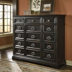 Barnys 15 Drawer Gentleman's Chest Bedroom Furniture Sets, Large Furniture, Painted Furniture, Home Furniture, Furniture Ideas, Furniture Stores, Bedroom Ideas, Chest Furniture, Black Furniture