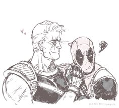Marvel - Nathan Summers x Wade Wilson - Cablepool