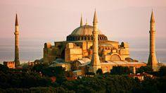 Hagia Sophia in Istanbul, Turkey Pamukkale, Hagia Sophia Istanbul, Turkey Vacation, Coach Tours, Capadocia, Istanbul Travel, Beautiful Architecture, Ancient Architecture, Istanbul Turkey